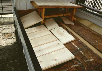 12.5.11 台所家具 板乾燥