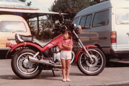 我がバイクSX250