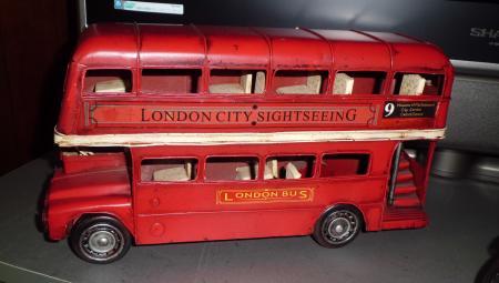 ロンドン2階バス