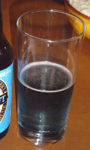水色ビールの色