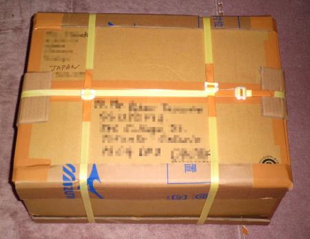 海外送付物梱包