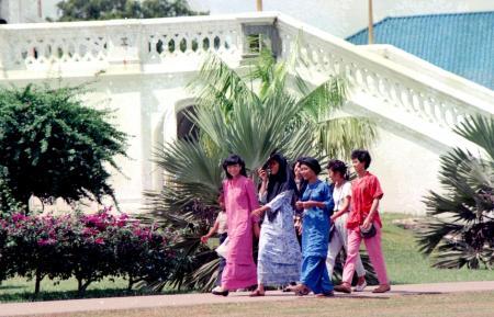マレー人の若い女性