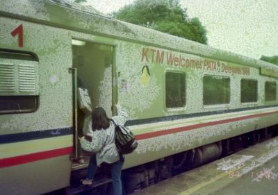 マレー鉄道KTM乗込み