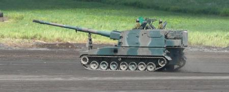 99式自走155㎜りゅう弾砲