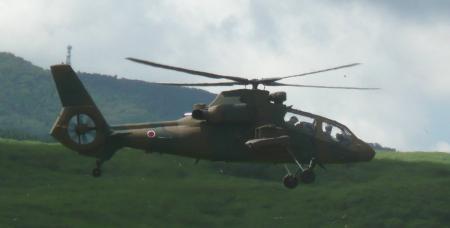 偵察(観測)ヘリ OH-1