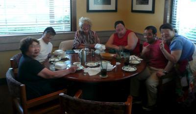 訪米14-2昼外食
