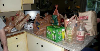 16日スーパーで買った物
