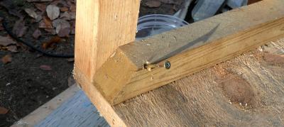 CA DIY2-2 木ネジ斜め打ち
