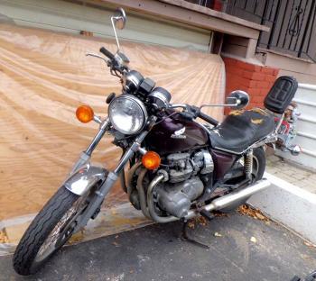 CA Wo宅隣のバイク9月29日