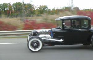 CAコテージ初日見た車