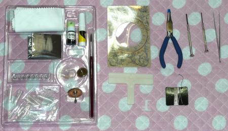 付属の工具、ジグ、部品