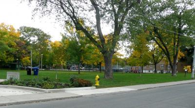 TR Wo宅近くの公園