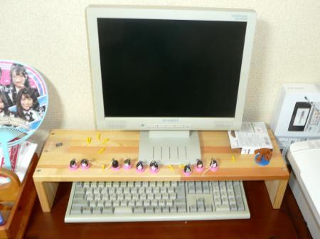 PCモニター台3