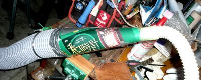集塵機ホース径変換