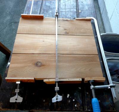 燻製器天板追加接ぎ