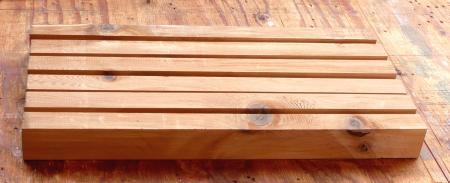 燻製器11月13日桟木作り2