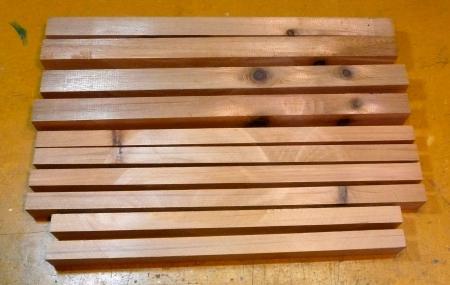 燻製器11月13日桟木作り3