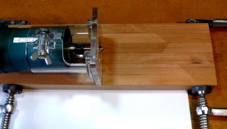 燻製器桟の溝彫1