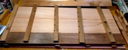 燻製器側板桟