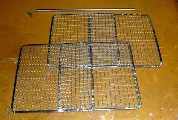 燻製器燻製網作成