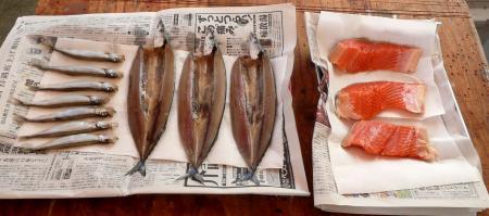 燻製器5日3魚薫煙前1