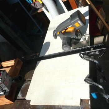 燻製器6日台1棚板加工