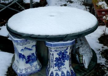 12月10日3時雪