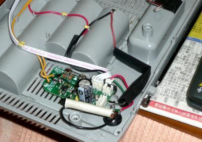 充電電池24日ラジオ配線完