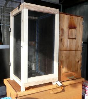 2013年1月3日薫製器乾燥箱