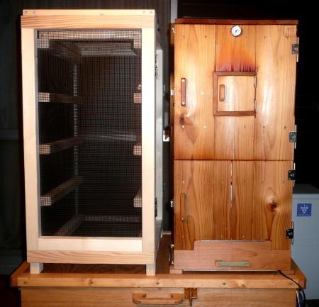薫製器1月8日薫製器・乾燥箱2