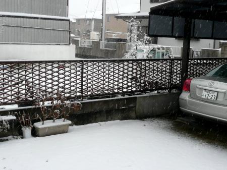 2013年1月14日雪降り1