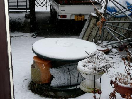 2013年1月14日雪降り2