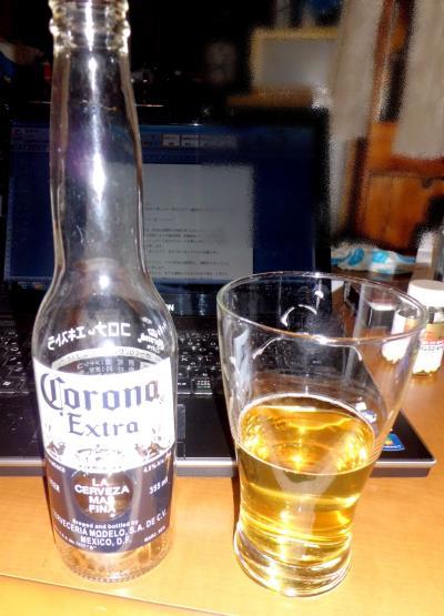 食事3月5日メキシコビール