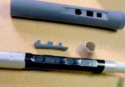 ペンタブの穴をビニールテープで塞ぐ