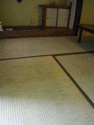 和室のカビ