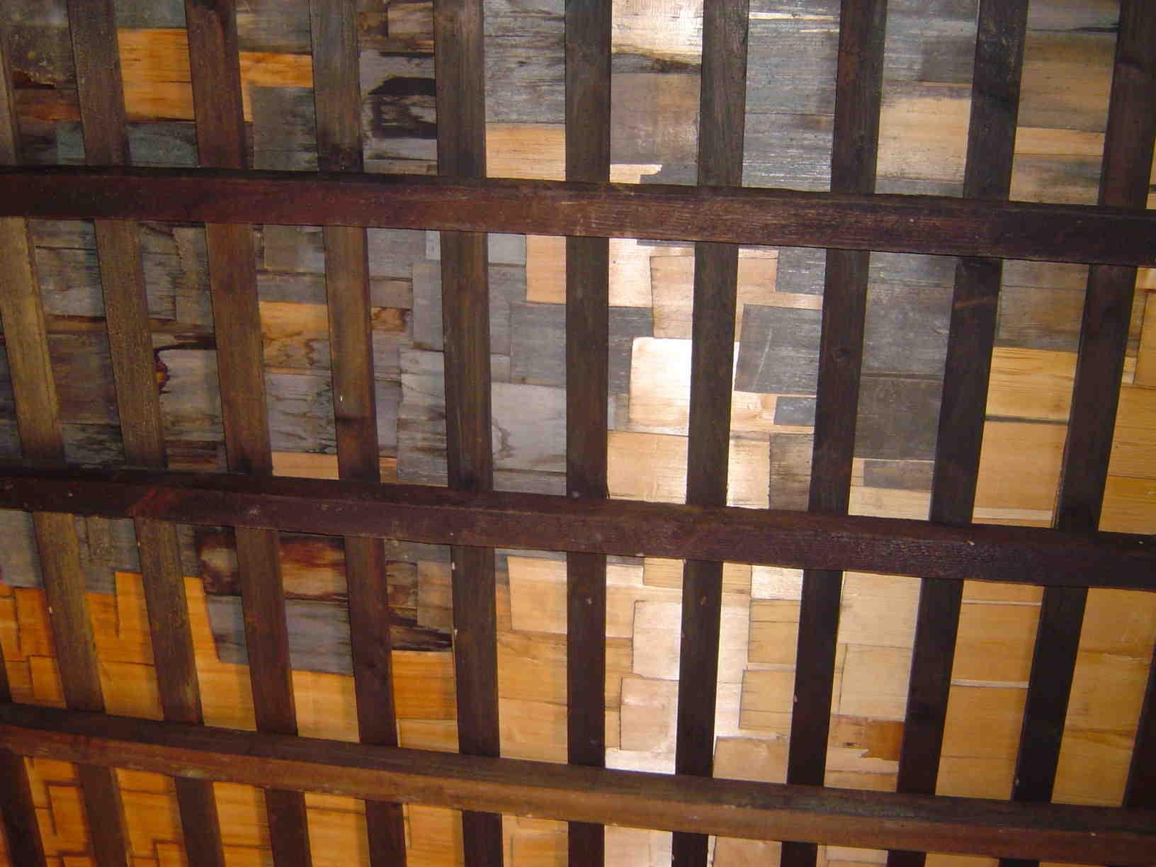 へぎ板天井
