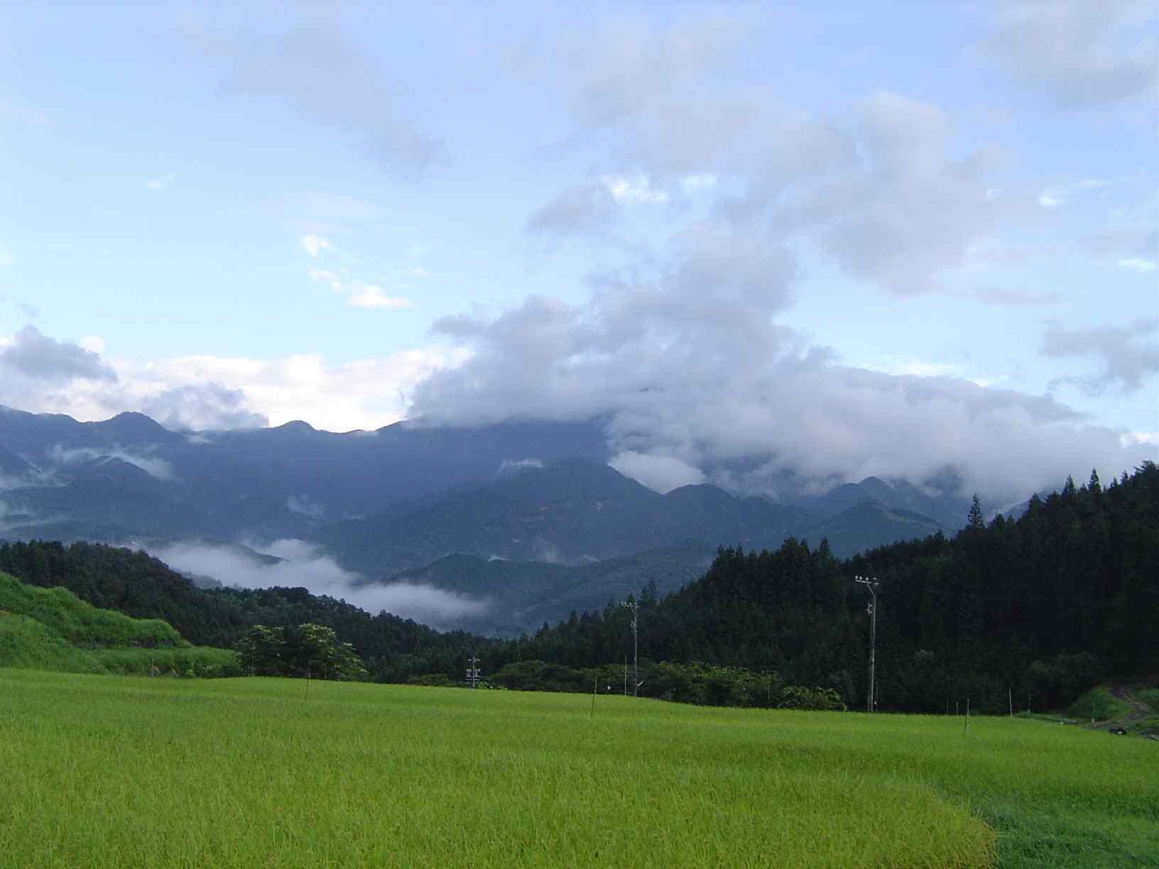 雲の恵那山