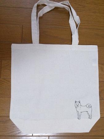 エコバッグ犬
