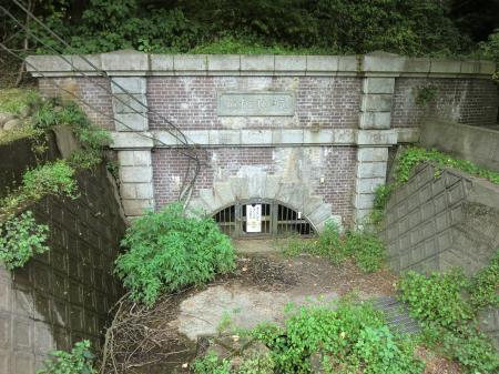 城山隧道下口
