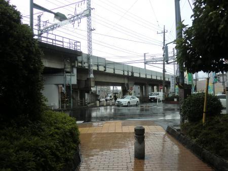小田急線交差