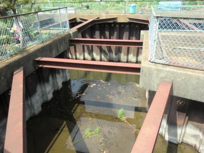 排水路への排水口