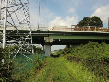 R246高架橋下