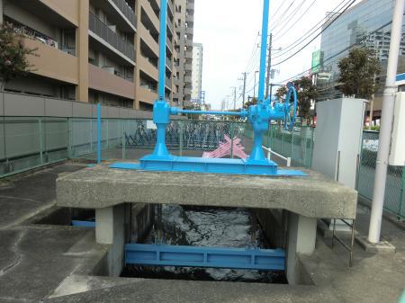 国分関免信号分水施設
