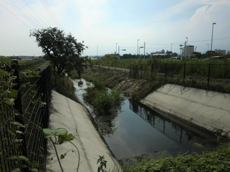 貫抜川放水路