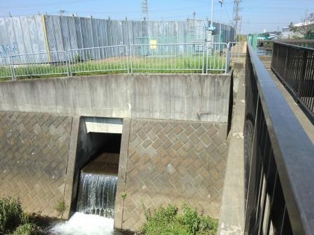 永池川排水口