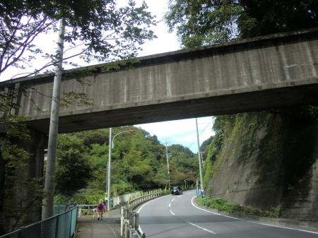 谷津川を渡る水路橋