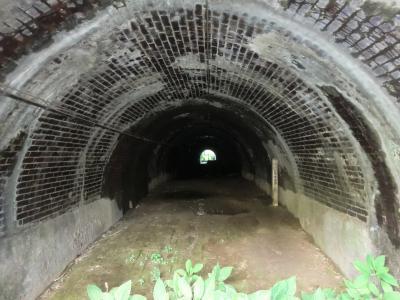 横須賀水道管路隧道内部・愛川橋付近