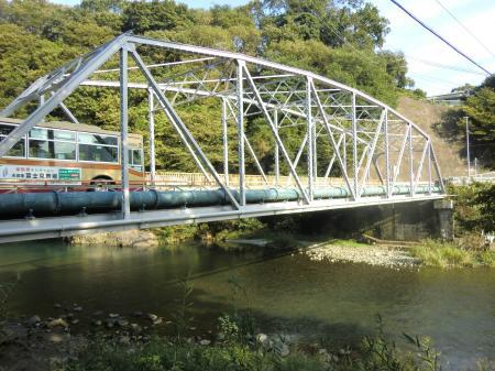 横須賀水道馬渡水管橋