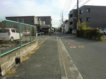 横須賀水道みち・弥勒寺1付近