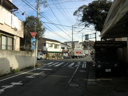 県道311号線長勝寺前交差点